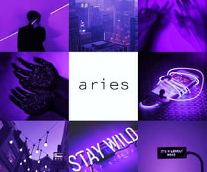 aesthetic, april, and aries image