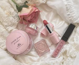 aesthetic, makeup, and pink image