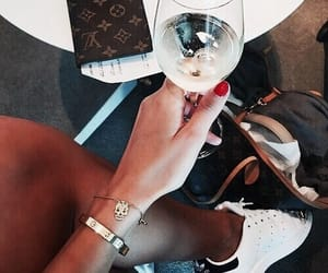 clothes, drink, and shoes image
