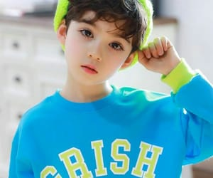 asian, korean kid, and baby image