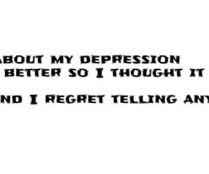 broken, depression, and depression quote image