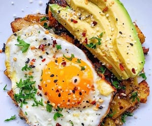 avocado, delicious, and egg image