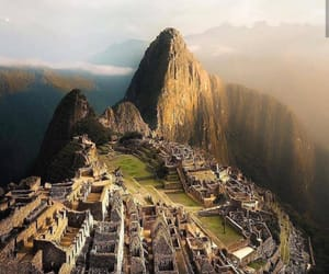 nature, peru, and machu picchu image