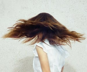 brunette and faceless image