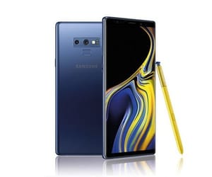 samsung and samsung galaxy note 9 image