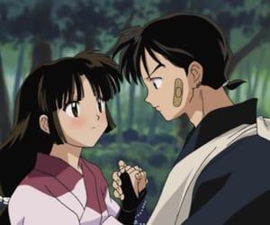 anime, inuyasha, and sango image