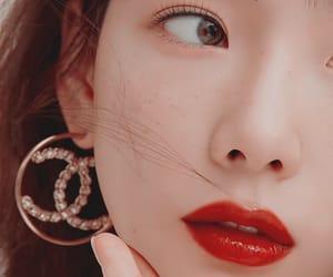 beauty, taeyeon, and chanel image