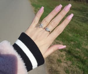 accessories, nails, and spring image
