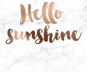sunshine, wallpaper, and hello image