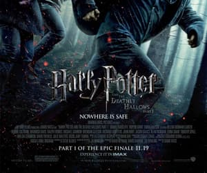 fantasy, harry potter, and movie poster image