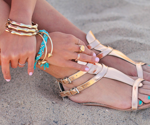 colors, nails, and sand image