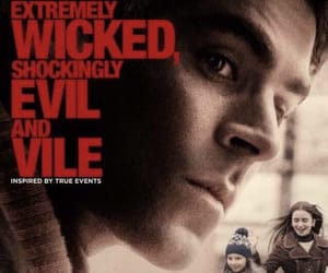 movie poster, ted bundy, and true crime image