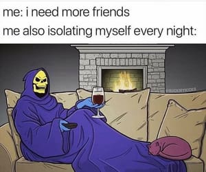 introvert, life, and lol image