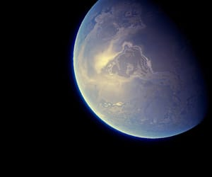Blue Planet, planet, and space image