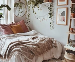 apartment, bed, and chic image