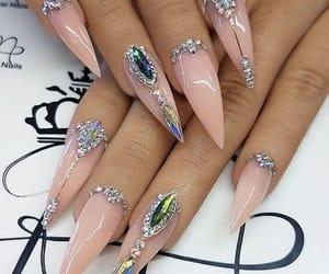 nail, nails, and fashion image
