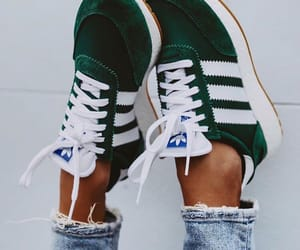 adidas, fashion, and green image