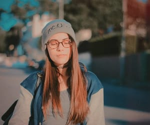 beanie, girl, and lovablemaria image