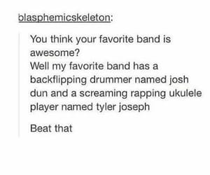 twenty one pilots, band, and tyler joseph image