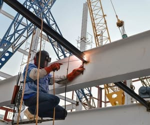welding services, architectural metalwork, and building steel london image