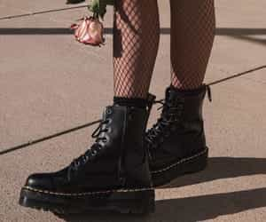 grunge, rose, and boots image