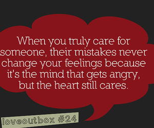 angry, heart, and words image