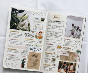 bullet journal, bujo, and journal image