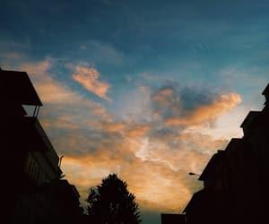 orange, sunset, and golden hour image