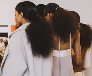 melanin and Afro image