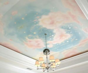room, sky, and pastel image