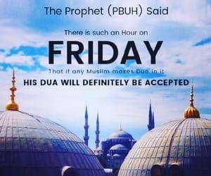 friday, muslim, and jumu'ah image