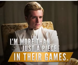 games, katniss, and hunger games image