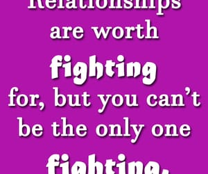 fighting, relationships quotes, and relationships advice image