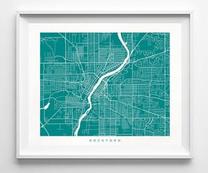 etsy, christmas gift, and illinois poster image