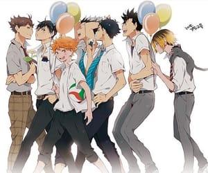 anime, handsome, and hinata image