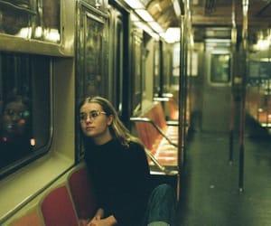 girl, interior, and light image