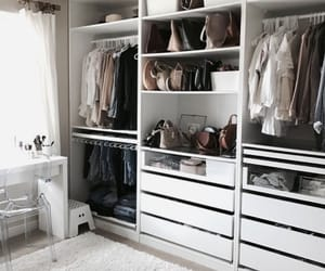 closet, design, and fashion image