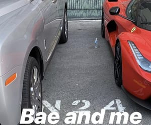 car, cars, and couple image