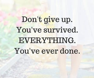don't give up, empowerment, and happiness image