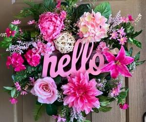 dahlia, rose, and spring image