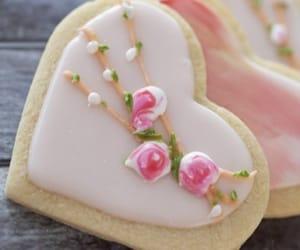 comida, Cookies, and corazón image