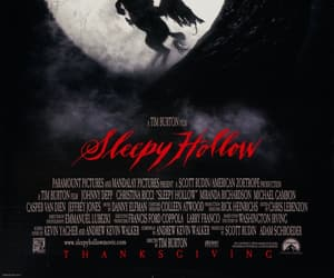 johnny depp, movie poster, and sleepy hollow image