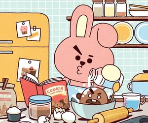 Cookies, bt21, and shooky image