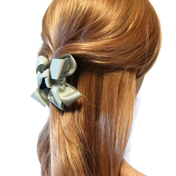 etsy, hairaccessory, and women hair bow image