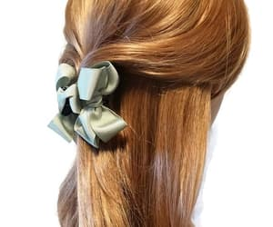 etsy, hairaccessory, and grosgrain hair bow image