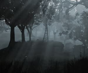 eerie, mysterious, and fallout image