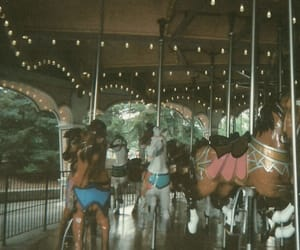 amusement, carousel, and dreamy image