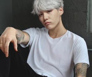 army, agust d, and suga image