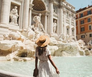 girl, travel, and italy image