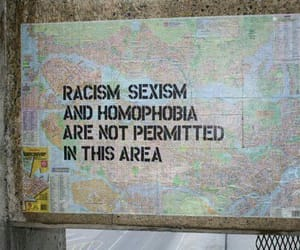 homophobia, racism, and sexism image